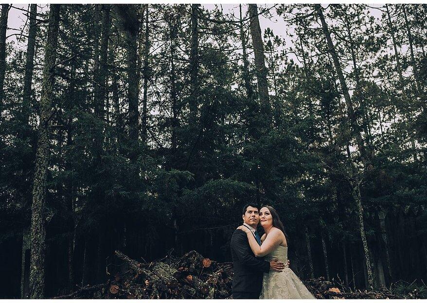 Cada día del resto de mi vida, voy a elegir amarte: la boda de Karen y Frank