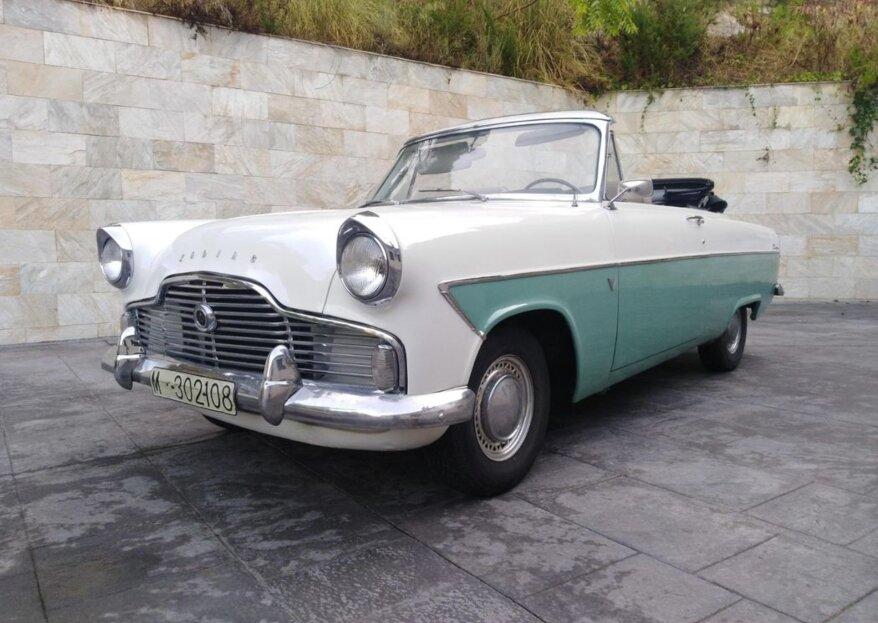 ROQUERS66: el viaje hasta tu boda a lomos de un flamante coche clásico