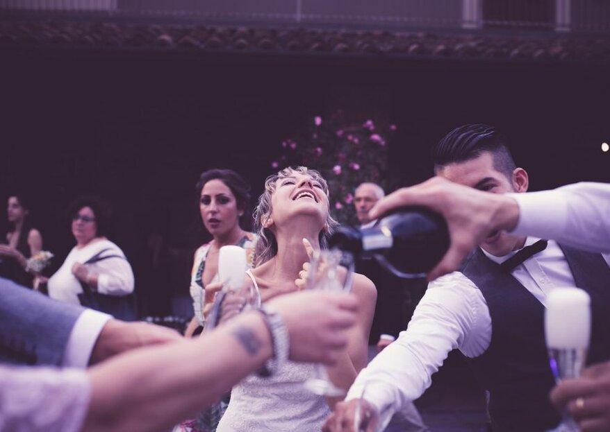 Voi ballate e divertitevi al vostro matrimonio, alle fotografie ci pensano loro