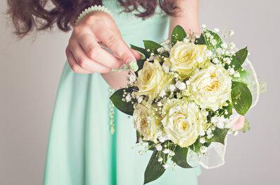 Heiraten in Mint! So integrieren Sie die Trendfarbe in Ihre Hochzeit