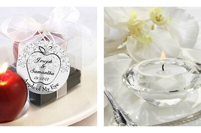 5 razones para decorar el salón de tu boda con velas