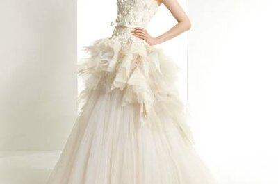 Os impecáveis vestidos de noiva Zuhair Murad para Rosa Clará 2013