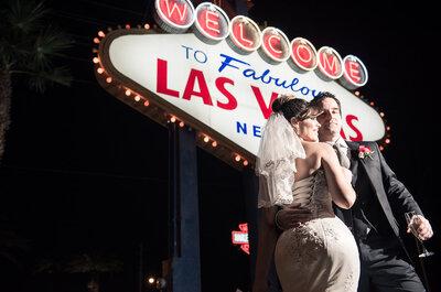Isabel e Andrigo: ensaio temático + casamento em Las Vegas