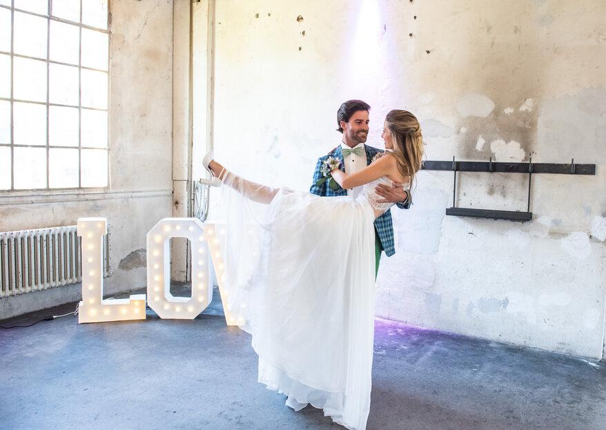 Urban-Industrial Wedding in der Giesserei: authentisch & realitätsnah!