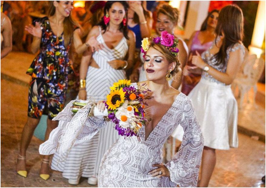 La novia y dos vestidos: 3 motivos para tener un segundo look en tu boda