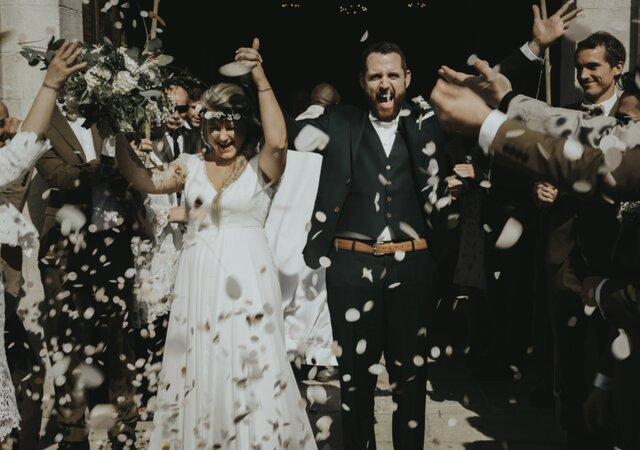 Lucile et Matthieu : un joli mariage vintage au coeur de la Provence