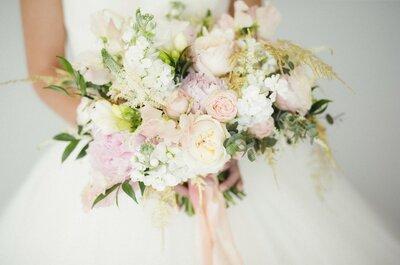 5 стилей букетов невесты, которые нельзя упустить в 2017 году