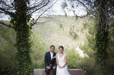 Amor a primera vista: la boda de Isabel y Víctor