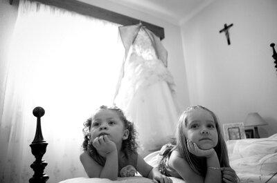 So beschäftigen Sie Kinder auf der Hochzeit
