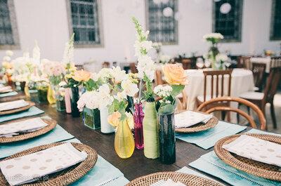 Los 6 detalles que no deben faltar en las mesas del banquete