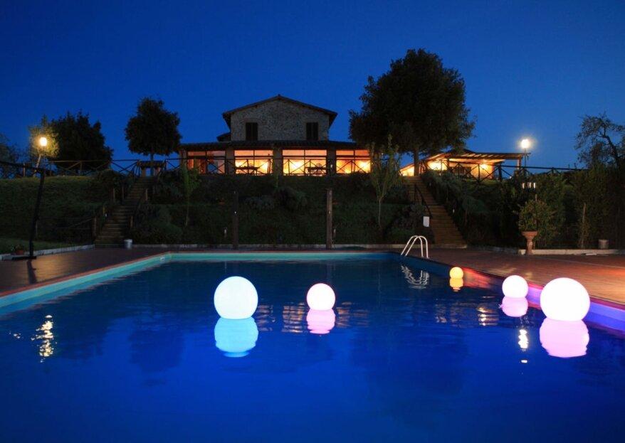 Tenuta di Corbara: la location ideale, a pochi km da Orvieto, dove celebrare le nozze in eleganza ed armonia con la natura