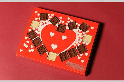 Convites de casamento em chocolate: os chocotelegramas