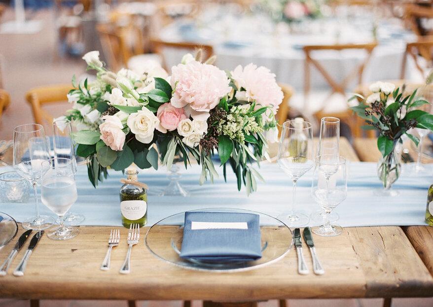 Los colores de boda 2019 que serán máxima tendencia