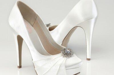 Claves para comprar online tus zapatos de novia con Egovolo