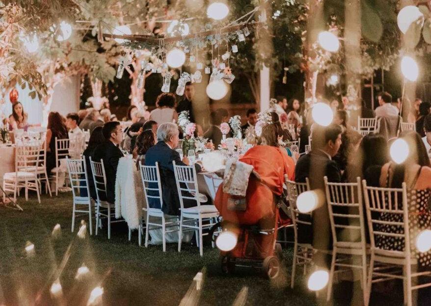 Locación y catering, elementos clave para triunfar en tu boda. ¡Te decimos cómo acertar!