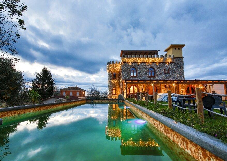 Castello degli Dei: antico e romantico maniero, uno sfondo speciale per ogni momento della vostra giornata da fiaba