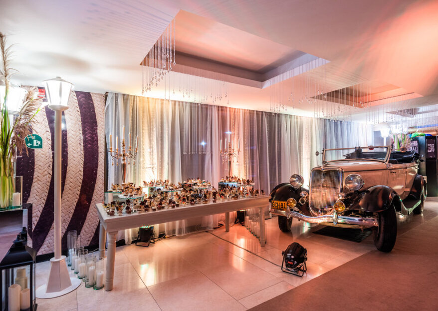 Los tres ambientes para tu boda del AR Centro de Convenciones