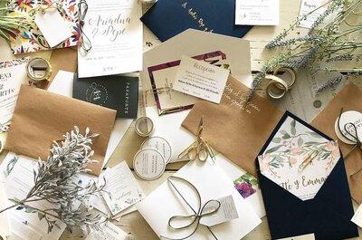 Los diseños más lindos en invitaciones de boda para verano: ¡Descúbrelos!