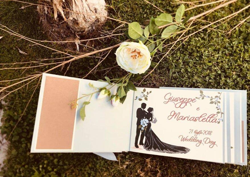 La wedding stationery che avete sempre sognato grazie alla creatività di Creami