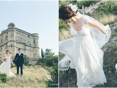 Destination Wedding en La Provenza Francesa: la boda de Katrina & Philippe