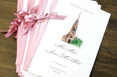 ¿Cómo deben ser los librillos de misa para la ceremonia religiosa?