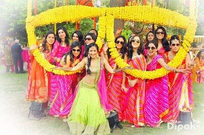 A bridesmaids checklist for an Indian wedding