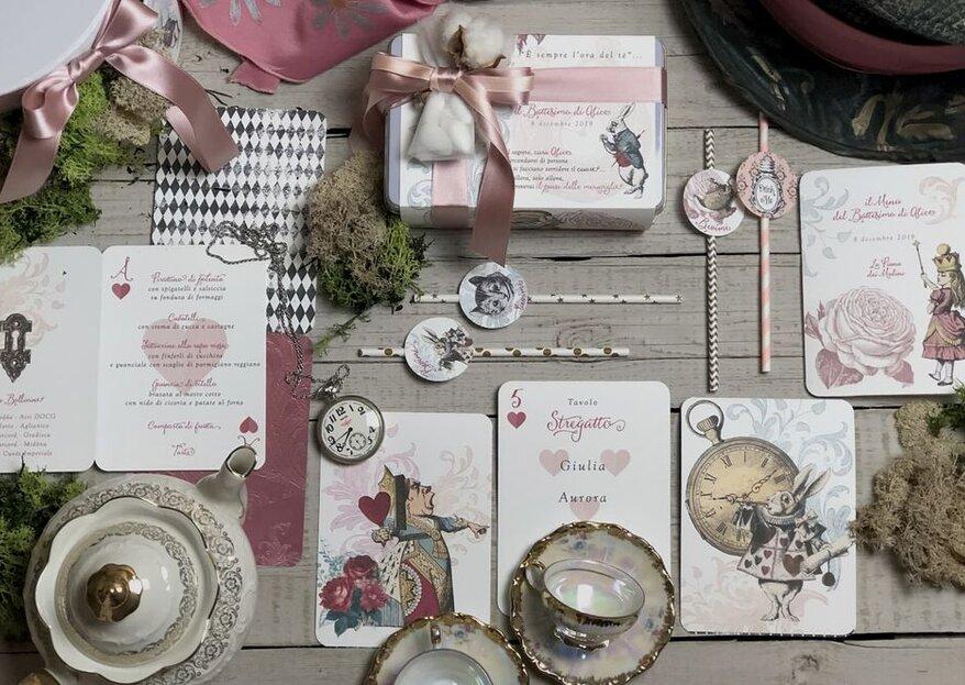 Agathé: l'importanza del fil rouge per i dettagli grafici delle tue nozze!