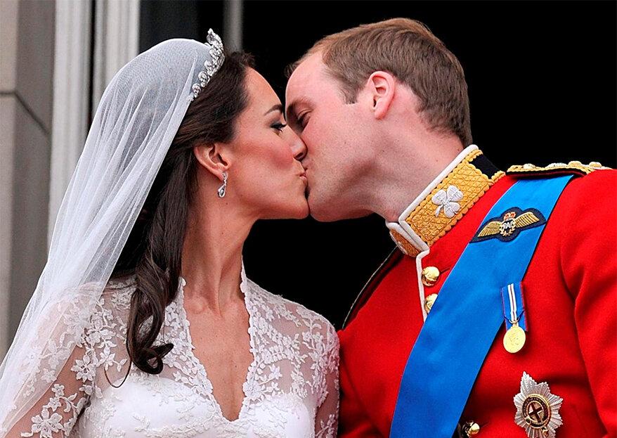 William & Kate celebram oito anos de casamento