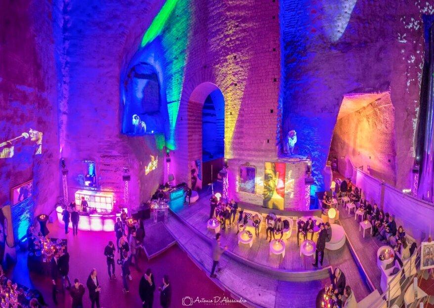 Agorà Morelli Luxury Events, un luogo mistico nel cuore di Napoli per le nozze più suggestive che potete immaginare!