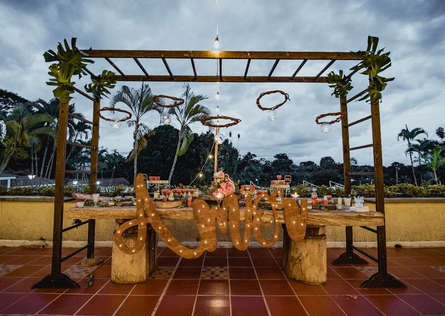 Así será tu boda en el Eje Cafetero con Planning Diseño de Eventos