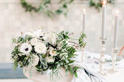 In de wolken met de mooiste bloemen op je bruiloft