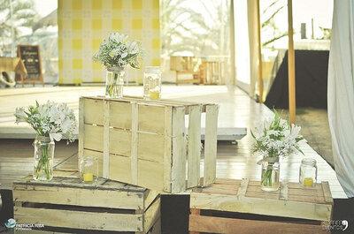La foto de la semana: decoración estilo vintage para boda
