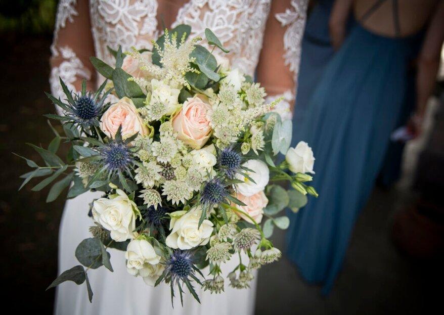 I bouquet da sposa che tutte le invitate vorranno conquistare al momento del lancio!