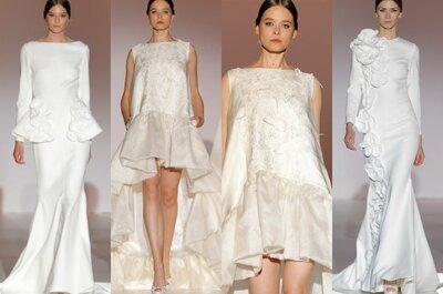 Bezaubernde Brautkleider mit pompösen Rüschen für Ihre Hochzeit 2015!