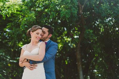 Te vi y volví a nacer: La boda de Whitney y Rubén