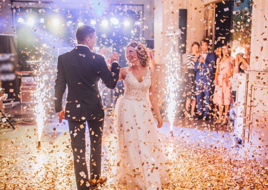 Bruiloftsshow met special effects: De leukste toevoegingen voor jouw bruiloft feest met DJ!