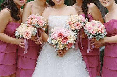Floral Fancy: Lisa + Ed´s Wedding in California