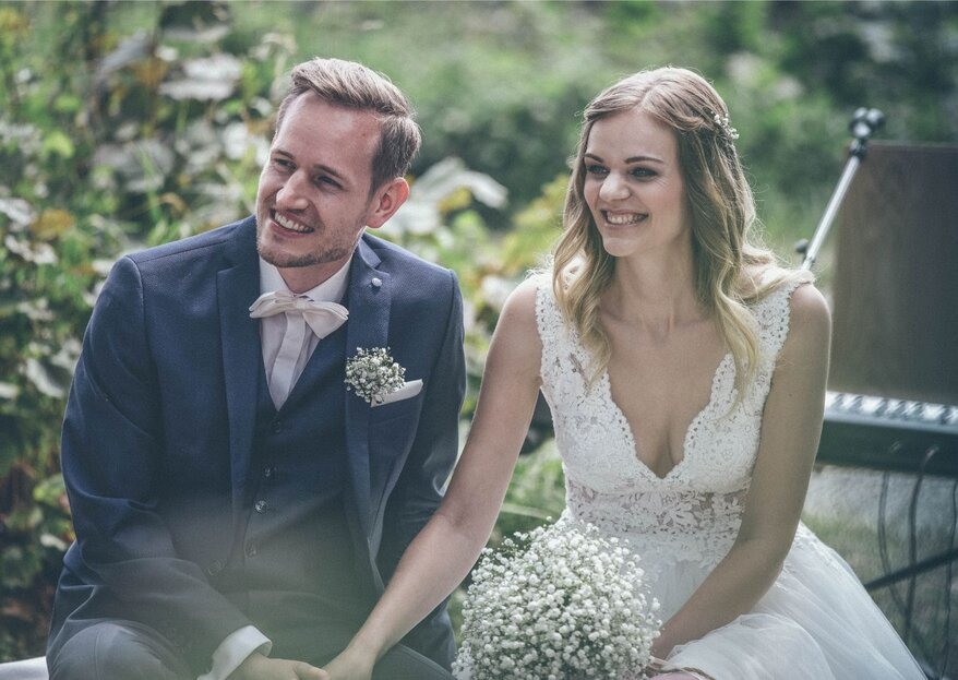 Endlich unendlich – nach zehn Jahren feierten Sara & Julian eine DIY-Wedding