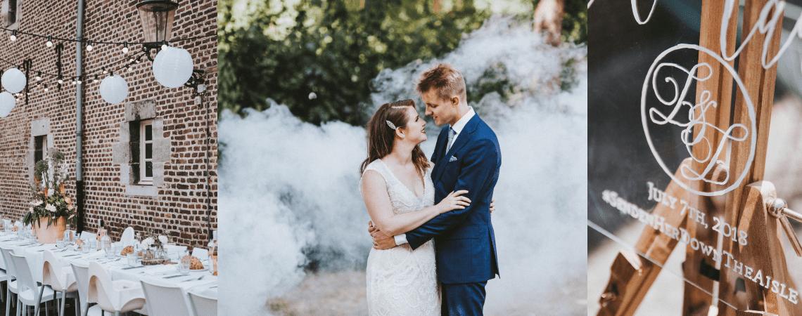Van Seoul naar Limbricht: de Real Wedding van Lauren en Loe