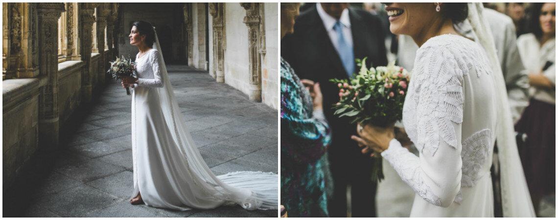Cómo escoger tu vestido de novia para una ceremonia religiosa en 5 pasos