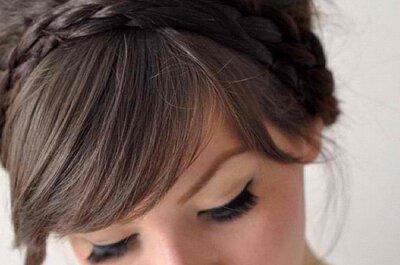 Hairstyling-Trend 2013: Pony-Frisuren für Hochzeitgäste