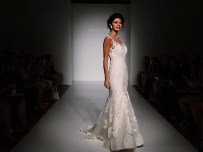 Maggie Sottero 2015 Fall Collection Catwalk at Bridal Fashion Week