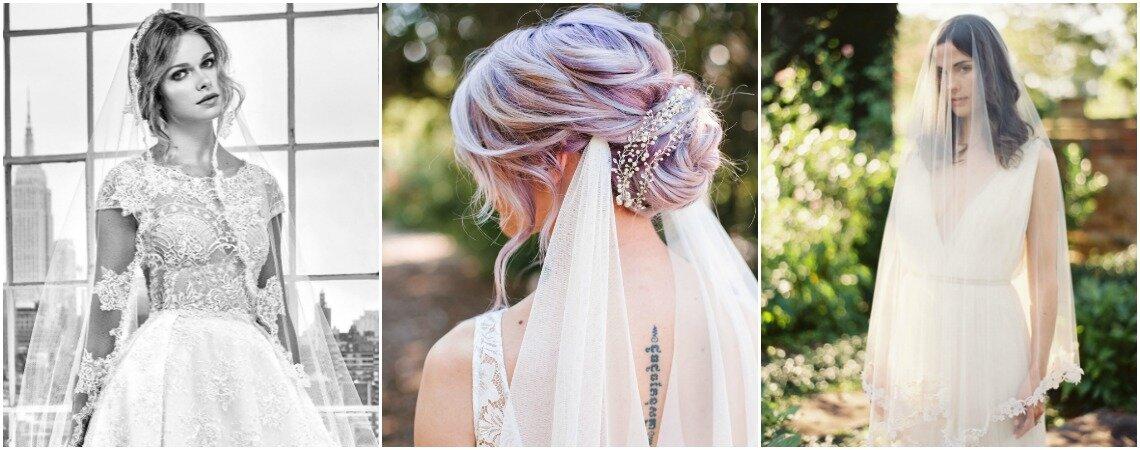 48 coiffures de mariée avec un voile : les plus jolies réalisations pour vous inspirer !