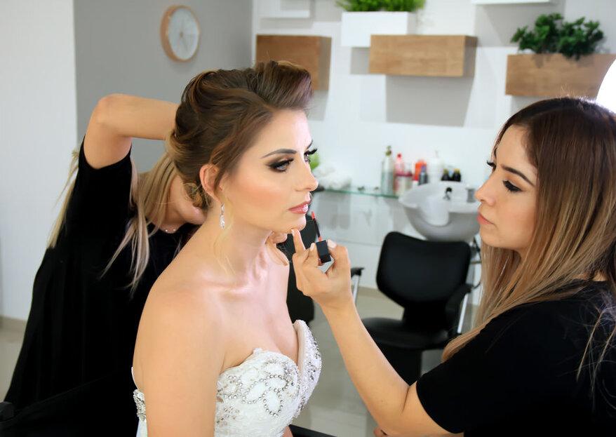 3 profesionales que te dejarán radiante el día de tu boda