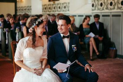 10 wichtige Dinge, die Braut & Bräutigam bei der Hochzeit auf keinen Fall vergessen sollten