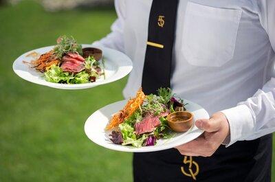El banquete ideal para el día de tu boda