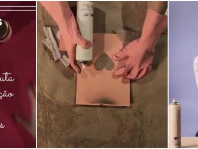 Meu casamento DIY: como fazer bandeirinhas de juta com corações!