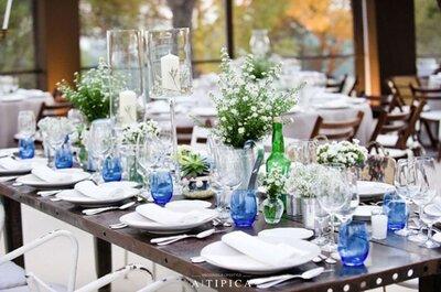 5 decoraciones de boda que necesitas ver antes de elegir la tuya