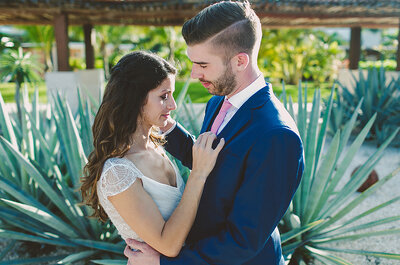 Dos personas hermosas unidas en un mismo corazón: El gran día de Jillian y Peter