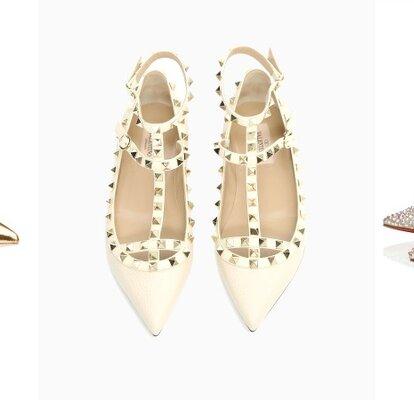Especial Noivas: 25 sapatos rasos para o dia do casamento